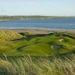 The 6th green at Lahinch Golf Club