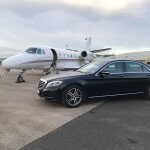 Private airside golf transportation